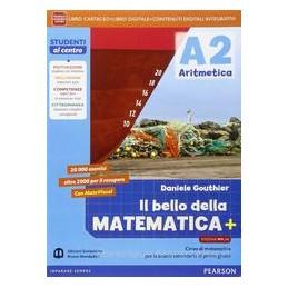 BELLO MATEMATICA 2 ARIT+GEOM+MATEV MYLAB