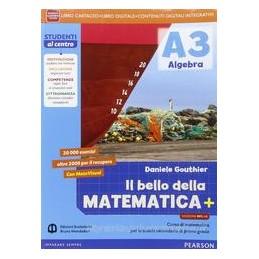 BELLO MATEMATICA 3 ARIT+GEOM+MATEV MYLAB