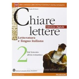 CHIARE LETTERE 2 ED. DIGITALE VOL+ITE+DIDA