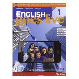 ENGLISH GOES LIVE 1 ED AB VOL+ITE+AB+DIDA