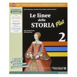 LINEE STORIA PLUS 2 VOL+AB+ITE+DIDA