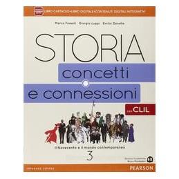 STORIA CONCETTI CONNESSIONI 3 CLIL