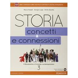 STORIA CONCETTI CONNESSIONI 3 VOL+ITE+DIDA