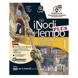 NODI DEL TEMPO (I) PLUS V.1+DVD,CD+CARTE+TAV.1+MI PREP.+ANT.CIV.+CITT.+Q.COM. DALLA CADUTA DELL`IMPE