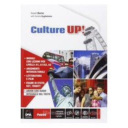 CULTURE UP     VOLUME + EBOOK (ANCHE SU DVD) + CD AUDIO  Vol. U
