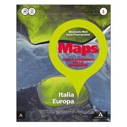 MAPS VOL 1 ITALIA EUROPA + GLOSS MULTILINGUE ATLANTE 1 + LE REGIONID`ITALIA Vol. 1