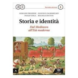 STORIA E IDENTITA` 2°ED VOLUME 1 + ATLANTE GEOPOLITICO 1 Vol. 1