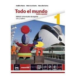 TODO EL MUNDO   LIBRO ALUMNO 1 E CUADERNO 1 + EBOOK 1 (ANCHE SU DVD) + EBOOK NARRATIVA MISTERIO EN E