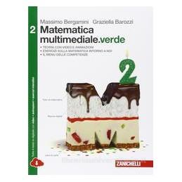 MATEMATICA MULTIMEDIALE VERDE   VOLUME 2 VERDE MULTIMEDIALE (LDM)  Vol. 2