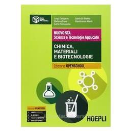 NUOVO STA   SCIENZE E TECNOLOGIE APPLICATE CHIMICA, MATERIALI E BIOTECNOLOGIE  Vol. U
