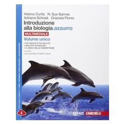INTRODUZIONE ALLA BIOLOGIA AZZURRO   VOLUME UNICO MULTIMEDIALE (LDM)  Vol. U