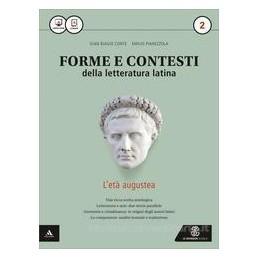 FORME E CONTESTI DELLA LETT  LATINA VOLUME 2 Vol. 2