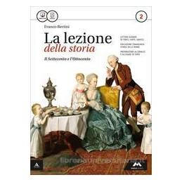 LEZIONE DELLA STORIA (LA) VOLUME 2 + ATLANTE GEOPOLITICO 2 Vol. 2