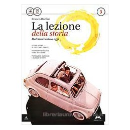 LEZIONE DELLA STORIA (LA) VOLUME 3 + ATLANTE GEOPOLITICO 3 Vol. 3