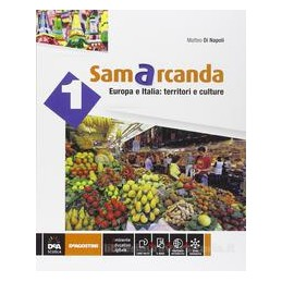 SAMARCANDA VOL. 1° + EBOOK (ANCHE SU DVD) + ATLANTE 1 + REGIONI D`ITALIA Vol. 1