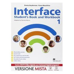 INTERFACE VOL 1  STUDENT`S BOOK  AND WORKBOOK + CITIZENS + GRAMMAR FOR ALL Vol. U