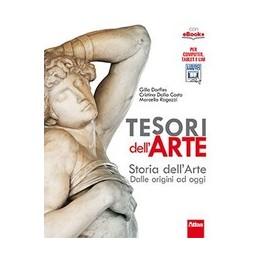 TESORI DELL`ARTE STORIA DELL`ARTE + GUIDA ALLO STUDIO Vol. U