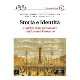 STORIA E IDENTITA` 2°ED VOLUME 2 + ATLANTE GEOPOLITICO 2 Vol. 2