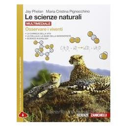 SCIENZE NATURALI (LE)   OSSERVARE I VIVENTI MULTIMEDIALE (LDM)  Vol. U
