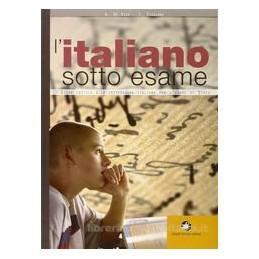 ITALIANO SOTTO ESAME