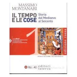 TEMPO E LE COSE 1 (ED.ROSSA) SET.TECNOL.