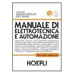 MANUALE DI ELETTROTECNICA E AUTOMAZ.+DVD