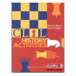 CLIL HISTORY ACTIVITIES X 4 +PDF