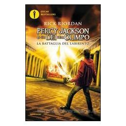 PERCY JACKSON E GLI DEI DELL`OLIMPO LA BATTAGLIA DEL LABIRINTO